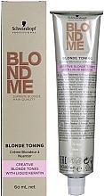 Духи, Парфюмерия, косметика Средство для тонирования волос - Schwarzkopf Professional BlondMe Blonde Toning Pastel Tones