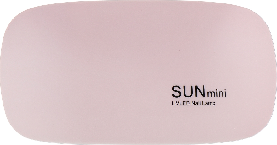 Лампа UV/LED, розовая - Sun Mini 6W