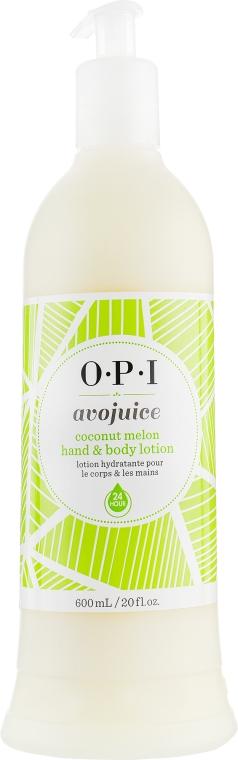 """Лосьон для рук и тела """"Кокос и дыня"""" - O.P.I Avojuice Coconut&Melon"""