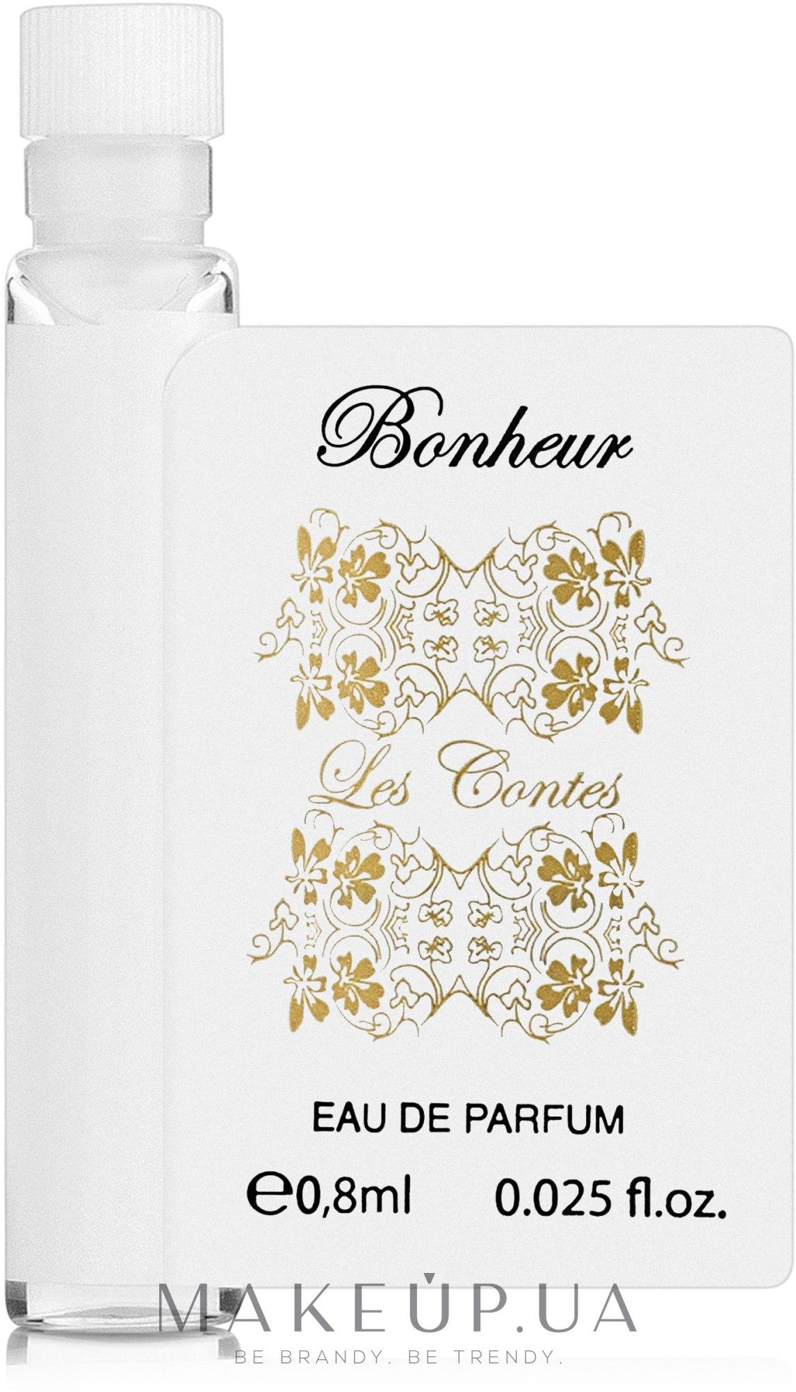 Les Contes Bonheur - Парфюмированная вода (пробник) — фото 0.8ml
