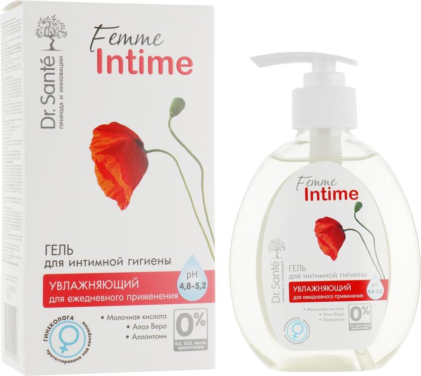 Увлажняющий гель для интимной гигиены - Dr. Sante Femme Intime