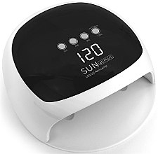 Духи, Парфюмерия, косметика Лампа UV/LED, белая с черным - Sun LED+UV Lamp 4S Plus 52W