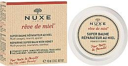 Духи, Парфюмерия, косметика Восстанавливающий бальзам с медом для лица и тела - Nuxe Rêve de Miel Repairing Super Balm With Honey