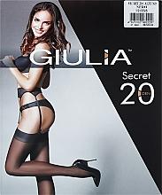 "Духи, Парфюмерия, косметика Чулки для женщин ""Secret Model 9"" 20 den, nero - Giulia"