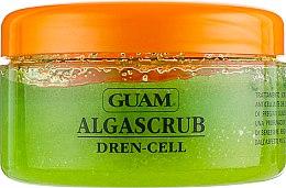 Скраб для тела с дренажным эффектом - Guam Algascrub Dren Cell — фото N2