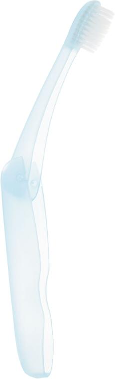 """Дорожный набор """"Отбеливание плюс"""", голубой - SPLAT (toothbrush/1шт + toothpaste/40ml) — фото N5"""