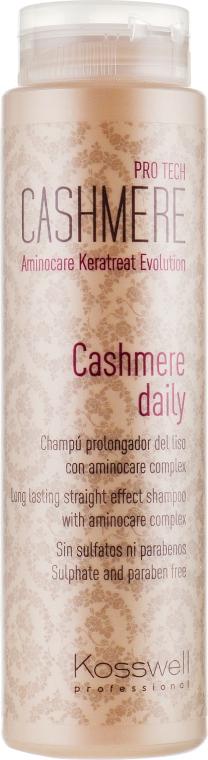 Шампунь для поддержания гладкости волос - Kosswell Professional Cashmere Daily