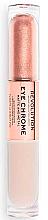 Духи, Парфюмерия, косметика Жидкие тени для век - Makeup Revolution Eye Chrome Liquid Eyeshadow