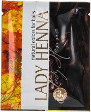 Духи, Парфюмерия, косметика Краска для волос на основе хны - Lady Henna