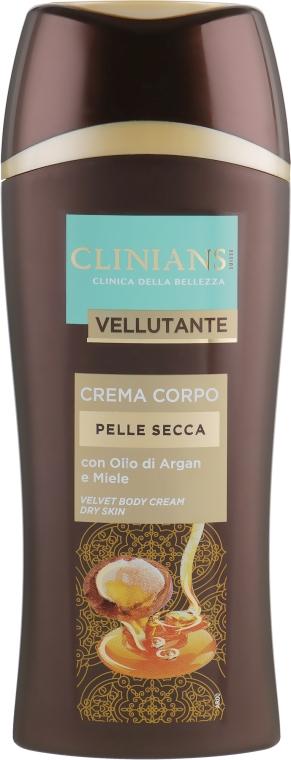 Крем для тела жидкий для сухой кожи - Clinians Body Fluida Corpo Velvet