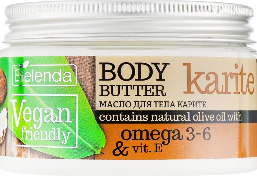 """Масло для тела """"Карите"""" - Bielenda Vegan Friendly Body Butter Karite"""