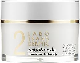 Духи, Парфюмерия, косметика Крем против морщин для шеи и декольте - Labo Transdermic 2 Anti-Wrinkle Cream Neck And Cleavage