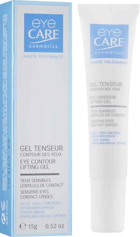 Гель для контура глаз с эффектом лифтинга - Eye Care Cosmetics Ophtalmic Gel Tenseur
