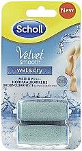 Духи, Парфюмерия, косметика Сменные ролики для электрической пилки - Scholl Velvet Smooth Wet&Dry