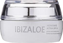 Духи, Парфюмерия, косметика Активный увлажняющий крем - Ibizaloe Moisturizing Cream SPF15