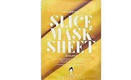 """Духи, Парфюмерия, косметика Маска-слайс для лица """"Банан"""" - Kocostar Slice Mask Sheet Banana"""