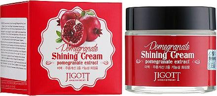 Крем гранатовый для яркости кожи - Jigott Pomegranate Shining Cream