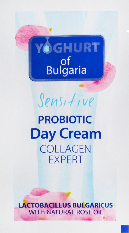 Дневной крем - BioFresh Yoghurt of Bulgaria Probiotic Day Cream Collagen Expert (пробник)