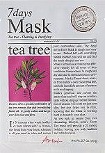 "Духи, Парфюмерия, косметика Маска для лица ""Чайное дерево"" - Ariul 7 Days Mask Tea Tree"