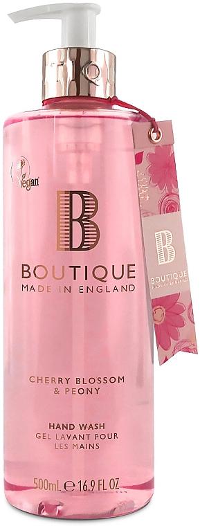"Жидкое мыло для рук ""Цвет вишни и пион"" - Grace Cole Boutique Cherry Blossom & Peony Hand Wash"