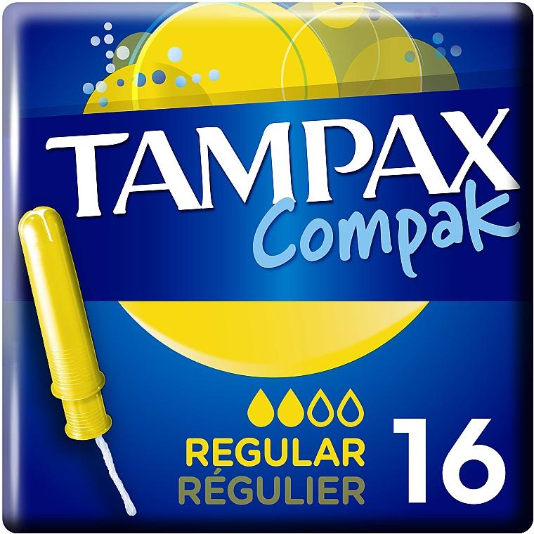 Тампоны с аппликатором, 16шт - Tampax Compak Regular