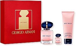 Духи, Парфюмерия, косметика Giorgio Armani My Way - Набор (edp/50ml + edp/7ml + b/lot/75ml)