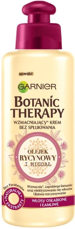 """Крем-масло для ослабленных волос, склонных к выпаданию """"Касторовое масло и миндаль"""" - Garnier Botanic Therapy"""