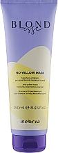 Духи, Парфюмерия, косметика Маска для осветленных или седых волос - Inebrya Blondesse No-Yellow Mask