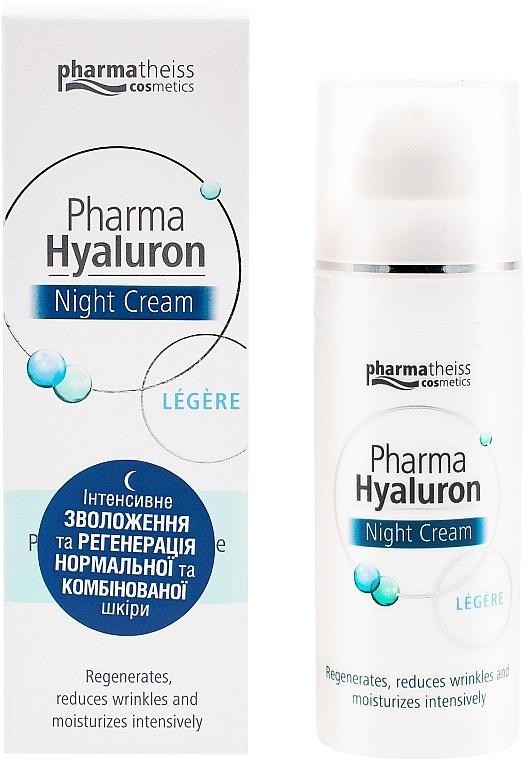 Крем ночной уход для лица legere - Pharma Hyaluron Pharmatheiss Cosmetics Nightcare
