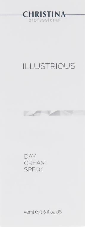 Дневной крем SPF50 - Christina Illustrious Day Cream SPF50