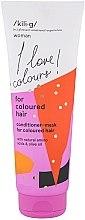 Духи, Парфюмерия, косметика Кондиционер-маска для окрашенных волос - Kili·g Woman Conditioner-Mask For Coloured Hair