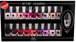 Духи, Парфюмерия, косметика Набор - Cosmetic 2K Let'S Get Colourful! (nail/laquer/19х3,5ml)
