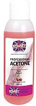 "Средство для снятия лака ""Вишня"" - Ronney Professional Acetone Cherry — фото N2"