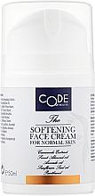 Духи, Парфюмерия, косметика Крем для нормальной кожи лица - Code Of Beauty Softening Face Cream For Normal Skin