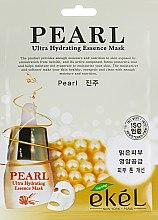 Духи, Парфюмерия, косметика Тканевая маска с экстрактом жемчужин - Ekel Pearl Mask