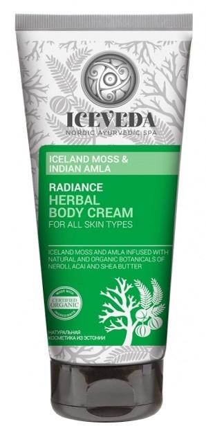 Крем для тела - Iceveda Iceland Moss&Indian Amla Radiance Herbal Body Cream