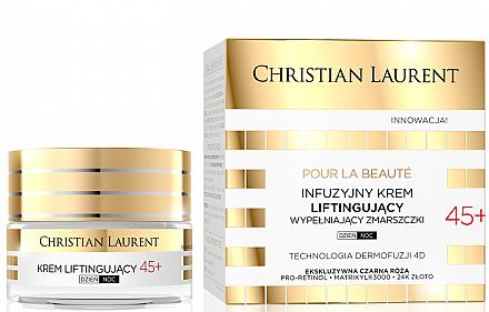 Инфузионный лифтинг-крем для заполнения морщин 45+ - Christian Laurent Pour La Beauté Face Cream 45+