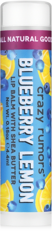 Бальзам для губ - Crazy Rumors Blueberry Lemon Lip Balm