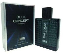 Духи, Парфюмерия, косметика I Scents Blue Concept - Туалетная вода