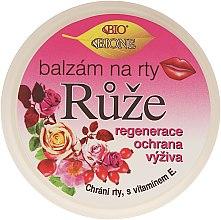 "Парфумерія, косметика Бальзам для губ ""Троянда"" - Bione Cosmetics Rose Lip Balm"