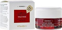 Духи, Парфюмерия, косметика Крем для лица, дневной для нормальной и комбинированой кожи - Korres Wild Rose Brightening & First Wrinkles Day Cream