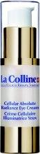 Духи, Парфюмерия, косметика Осветляющий крем для глаз - La Colline Cellular Absolute Radiance Eye Cream