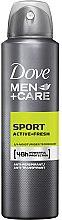 Духи, Парфюмерия, косметика Антиперспирант для мужчин - Dove Men+Care Sport Active Fresh