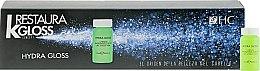 Духи, Парфюмерия, косметика Молекулярное восстановление для сухих, пористых и вьющихся волос - HairConcept Restaura K Gloss Concept Hydra Gloss