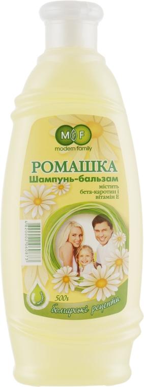 "Шампунь-бальзам ""Ромашка"" - Pirana MODERN FAMILY"