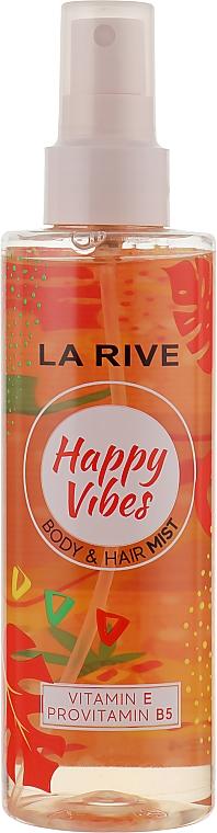 """Парфюмированный спрей для волос и тела """"Happy Vibes"""" - La Rive Body & Hair Mist"""