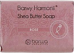 Духи, Парфюмерия, косметика Мыло с экстрактом розы и маслом Ши - Barwa Barwy Harmonii Rose Shea Butter Soap