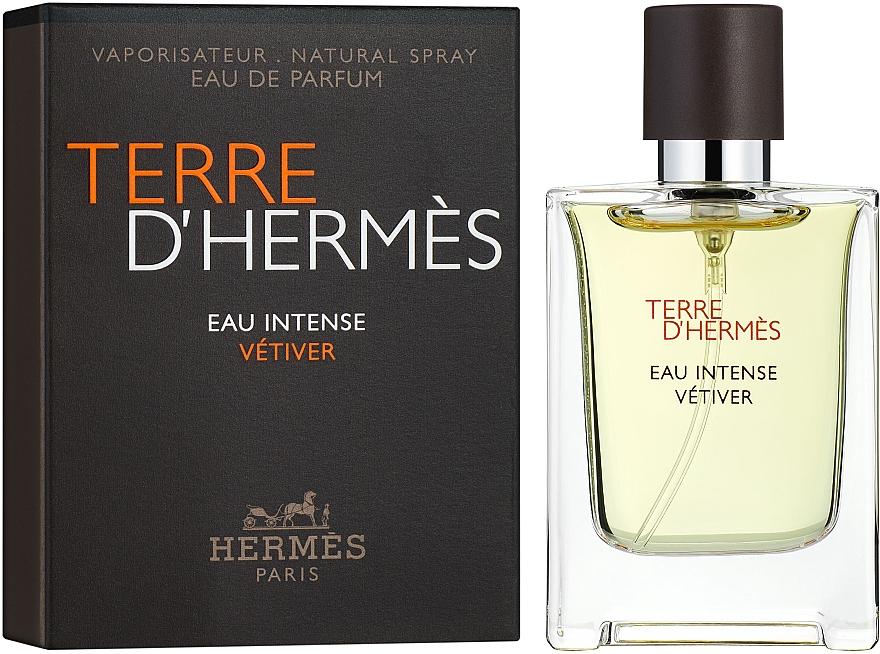 Hermes Terre d'Hermes Eau Intense Vetiver - Парфюмированная вода (мини)