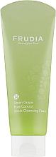 Духи, Парфюмерия, косметика Себорегулирующая скраб-пенка для умывания с виноградом - Frudia Pore Control Green Grape Scrub Cleansing Foam