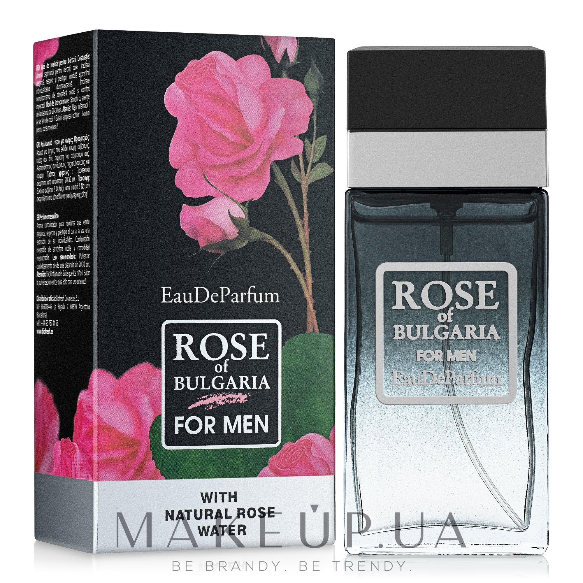 BioFresh Rose of Bulgaria For Men - Парфюмированная вода — фото 60ml